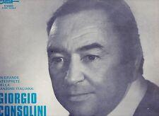 GIORGIO CONSOLINI disco LP 33 UN GRANDE INTERPRETE... Made in ITALY 1976