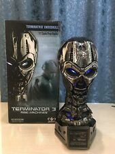 Sideshow T-X Terminatrix Endoskull Life Size bust Terminator TX Head very Rare