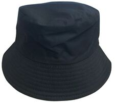 100% Cotton Adults Bucket Hat Summer Fishing Fisher Beach Festival Sun Cap UK