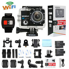 4K WIMIUS Action Camera Sports WiFi 1080P 60fps16MP Waterproof DV Remote Control