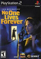 No One Lives Forever PS2 New Playstation 2