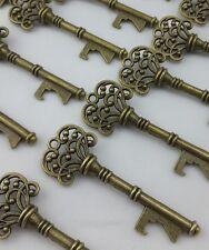 100 Antique Skeleton Key Bottle Opener Wedding Favor Party Bridal Shower Gift