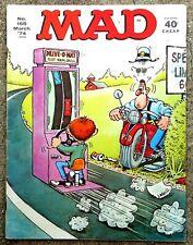 MAD Magazine #165 Mar 1974! FINE+/VERY FINE! 7.0! $.99 Start! A  REAL BEAUTY!
