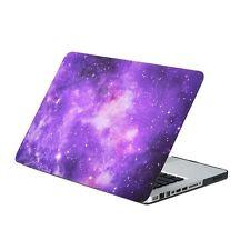 "Purple Galaxy Graphic Rubberized Hard Case for MacBook Pro 13"" Model A1278"