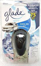 Glade Sport COOL AIR Perfume Scent Car Vent Clip Air Freshener by SC Johnson 7ml