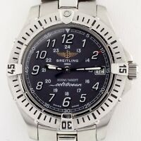 Breitling Men's Colt Ocean Stainless Steel Quartz Watch A64050