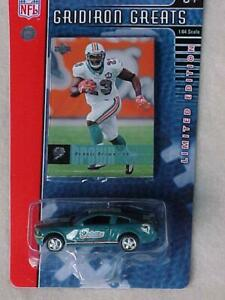 2006 Miami Dolphins Ford Mustang GT Upper Deck Ronnie Brown Card New in Pack