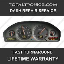 VOLVO S60 S80 V70 C70 XC90 DIM DASH INSTRUMENT CLUSTER SPEEDO CLOCKS REPAIR