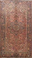 Excellent Vintage Traditional Wool Area Rug Hand-Knotted Oriental 8x12 Carpet