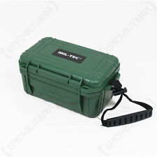 CAMPING FIRST AID KIT - OLIVE GREEN - Car Travel Cadet Bag Box Emergency Medical