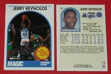 # 339 JERRY REYNOLDS MAGIC ORLANDO 1989 NBA HOOPS BASKETBALL CARD