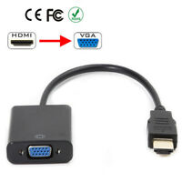 HDMI Male to VGA Female Video Adapter Cable Converter 1080P For PC DVD HDTV TV