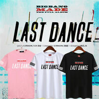Kpop Bigbang G-Dragon Tshirt Made The Full T-shirt Unisex TOP Taeyang Cotton Tee