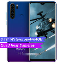 Blackview A80 Pro Smartphone Android 9.0 Dual SIM Global 4G Mobile Octa Core Blu