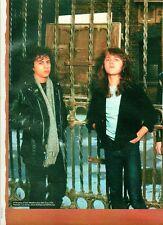 METALLICA Kirk & Lars @ the gates magazine PHOTO / mini Poster 11x8 inches