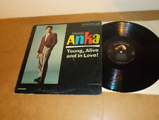 LP VINYL - PAUL ANKA  - YOUNG ALIVE AND IN LOVE  - RCA 2502 - CANADA