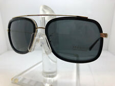 Authentic VERSACE SUNGLASSES VE2173 125287 GOLD/BLACK/GREY LENS 60MM