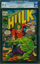 INCREDIBLE HULK 141 CGC 9.2 NM OWWP 1 ST DOC SAMSON AVENGERS DEFENDERS IRONMAN