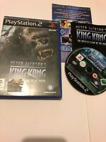 😍 jeu playsation 2 ps2 ps3 pal fr complet notice peter jackson's king kong