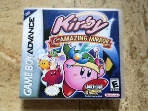 Kirby & The Amazing Mirror - Nintendo Game Boy Advance Gameboy Boite DS