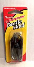 Berkley Johnson Beetle Shad Pearl/ Black