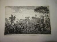 James FORRESTER (1729-1775) Gravure XVIII VUE ROME ITALIE GRAND TOUR ITALIA 1760