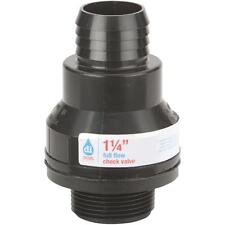 "Drainage Industries 1-1/4"" Check Valve"