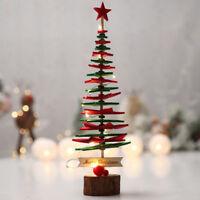 Merry Christmas Tree Desk Table Decor Festival Party Ornaments Xmas Gifts DIY
