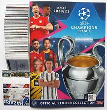 Champions League 2020/21 Complete Set - Empty Album + All 592 Stickers