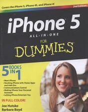 iPhone 5 All-in-One For Dummies, Boyd, Barbara, Hutsko, Joe, Good Condition, Boo