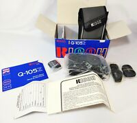 Vintage Ricoh Q-Super 90Z Camera with Box, Manual and Film Untested