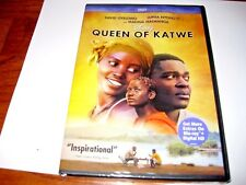 Queen of Katwe: Genuine Disney; Lupita Nyong'o (DVD,2017] New + I Ship Faster