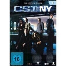 """CSI NY """"season 1"""" Set 6 DVD SERIE TV NUOVO"""
