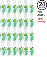 Hand Sanitizer Gel 75% Alcohol Portable Hand Wash Scent Free 50ml - 24 PACK