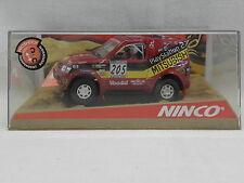 Ninco 50305 Slot Car Mitsubishi Pajero 'Jutta' N°205