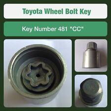 """original Toyota Tornillo de fijación de la rueda / Llave para Tuerca 481 """"Cc """""""