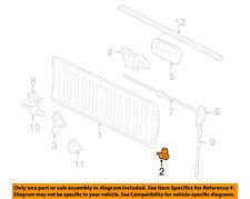 GM OEM Tail Gate-Hinge Left 15074253