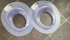 Baby Toilet Trainer Seat Blue/ Purple Unisex Bundle Of 2