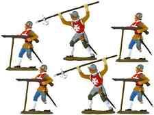 Monarch Renaissance Knights - painted 54mm - Airfix Timpo Marx compatible