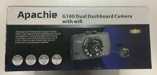 Apachie G100 Dash Cam With Wifi - Full HD Dual Dashboard Camera
