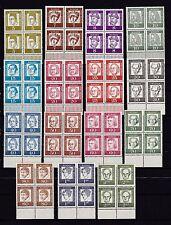 Berlin 1961 postfrisch unter Rand  Bedeutende Deutsche MiNr. 199-213