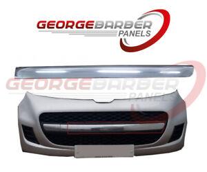 Peugeot 107 2009-2012 Front Bumper Grille Chrome Moulding Trim - Left Hand - NEW