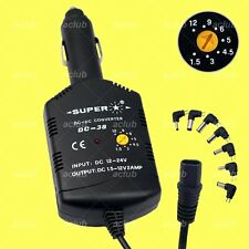 2000mA Multi-Voltage 1.5V-3V-4.5V-5V-6V-9V DC Converter 12V-24V Car Charger DC38