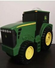 JOHN DEERE Toy Tractor Case Carrier ERTL Collections Green HOLDER W/ Handle