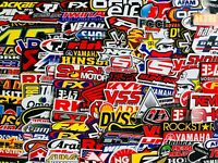 100+ Random Sticker Motocross Motorcycle Bike Helmet ATV Car Truck Racing Decal