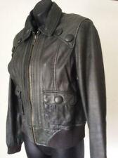 Leather Bomber Women's NEXT