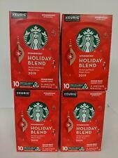 40 Count Starbucks Holiday Blend 2019 Medium Roast Coffee K Cup Pods Keurig