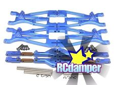 ALUMINUM FRONT+REAR UPPER LOWER ARM B HPI 1/8 SAVAGE 21 25 SS 3.5 4.6 FLUX X XL