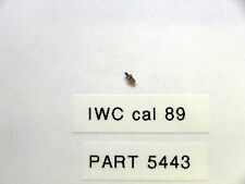 IWC cal  89  tirette screw part 5443
