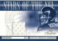 2006 Playoff Prestige Stars of the NFL Materials Ben Roethlisberger #NFL-21